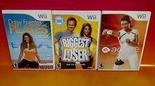 Daisy Fuentes Pilates Biggest Loser EA Active Trainer 3 Game Nintendo Wii *Wii U