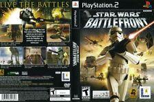Star Wars: Battlefront Sony PlayStation 2 PS2 COMPLETE LikeNew Jedi Stormtrooper
