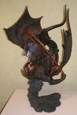 Gandalf vs. Balrog Duel of Light & Fire Diorama Sideshow Statue LOTR bust weta