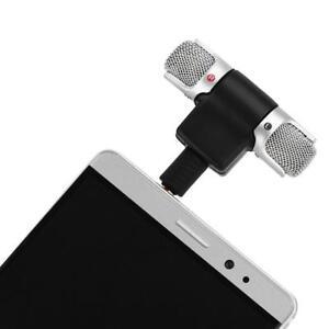 Mini-Microfono-Stereo-Microphone-Mic-3-5mm-Plug-Jack-Per-Celluare-Smartphone
