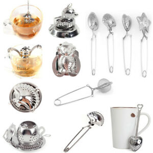 Loose-Tea-Infuser-Leaf-Strainer-Filter-Diffuser-Herbal-Spice-Stainless-Steel