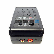 King Motor KM4AC-L 1s 2s 3s 4s LiPo LiFe Balancing Charger AC 3 Amp (12v/240v)