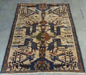 Details About Afghan War Rug Handmade Trible Shindand