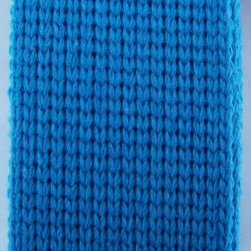 17 COLOUR 40mm Cotton Acrylic Webbing 2mm Thick Bag Belt Handle Strap BUY 1 2 4m