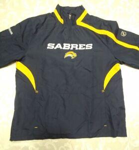 Men's M - NHL Official - BUFFALO SABRES HOCKEY Windbreaker Jacket