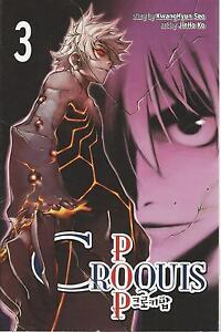 Croquis Pop Vol 3 Manga New Comic Graphic Novel Teen Book Kwanghyun
