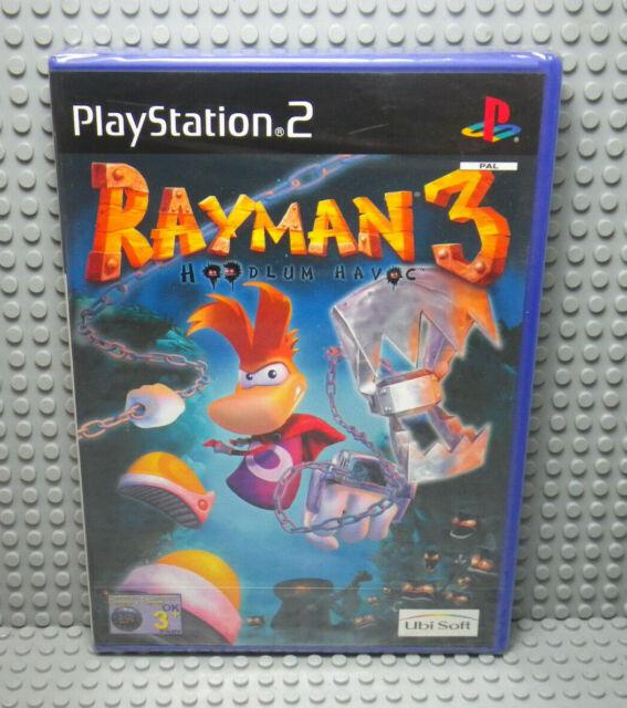 Rayman 3 Hoodlum Havoc - Sony PLAYSTATION 2 PS2 - New Blister - UK