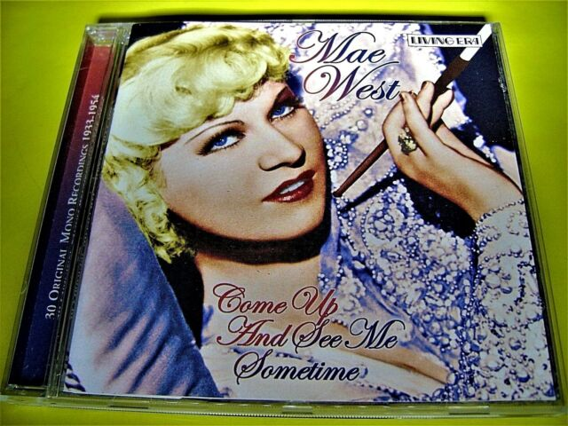 MAE WEST - COME UP AND SEE ME SOMETIME | 30 ORIGINAL MONO RECORDINGS 1933 - 54