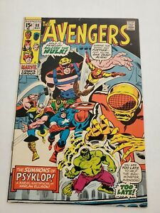 Anengers 88 Marvel Psyklop Captain America Hulk Thor Iron Man