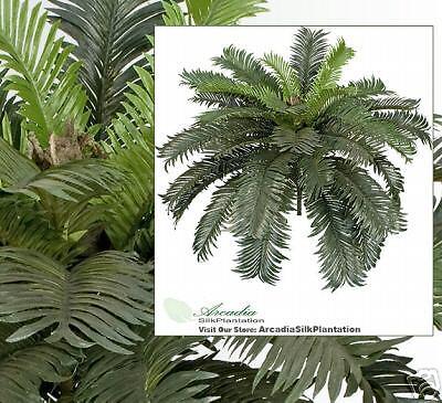 30  Cycas Palm Kunstificial Tree Silk Plants Decor Office 035