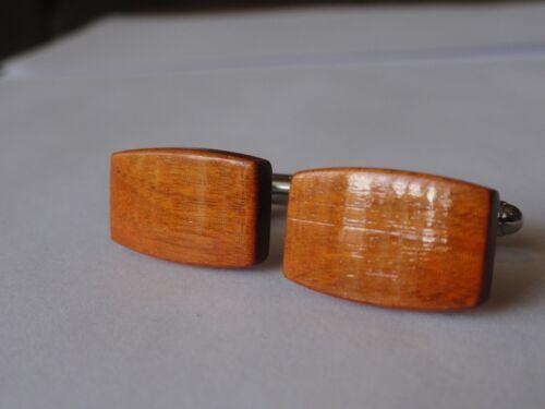 Chakte Viga Wood Cufflinks Exotic Hardwood