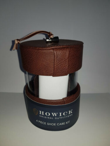 £ 35 Howick 4 Pièce Shoe care Kit House Of Fraser RRP