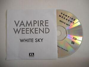 VAMPIRE-WEEKEND-WHITE-SKY-CD-SINGLE-PORT-GRATUIT