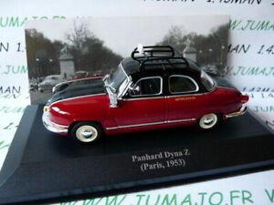 voiture-1-43-IXO-Altaya-TAXI-du-monde-PANHARD-DYNA-Z-Paris-1953