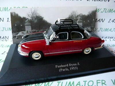 ALTAYA TAXIS DU MONDE PANHARD DYNA Z TAXI DE PARIS 1953 au 1//43°