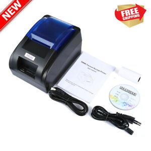 58mm-Stampante-Termica-per-Ricevute-70mm-s-USB-Negozi-Ristorante-Thermal-Printer