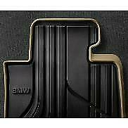 NEW OEM BMW 4-Series All-Weather Rear Floor Mats Basic Line