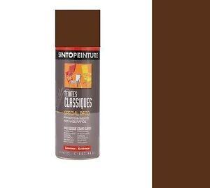 Bombe Peinture Marron Chocolat Ral 8017 400ml Sinto Ebay