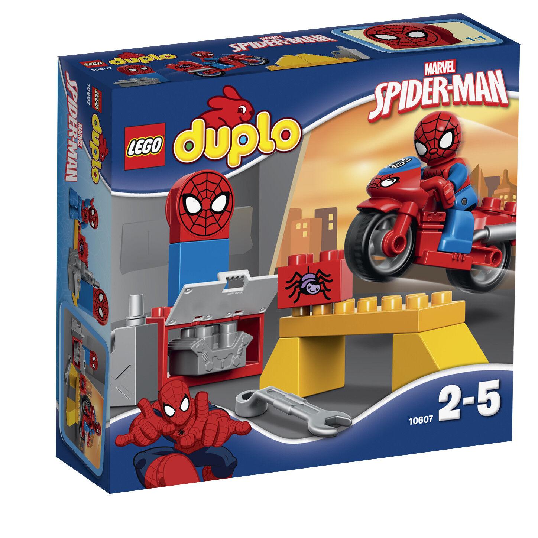 LEGO® DUPLO® 10607 Spider-Man – Motorrad-Werkstatt NEU OVP NEW MISB NRFB