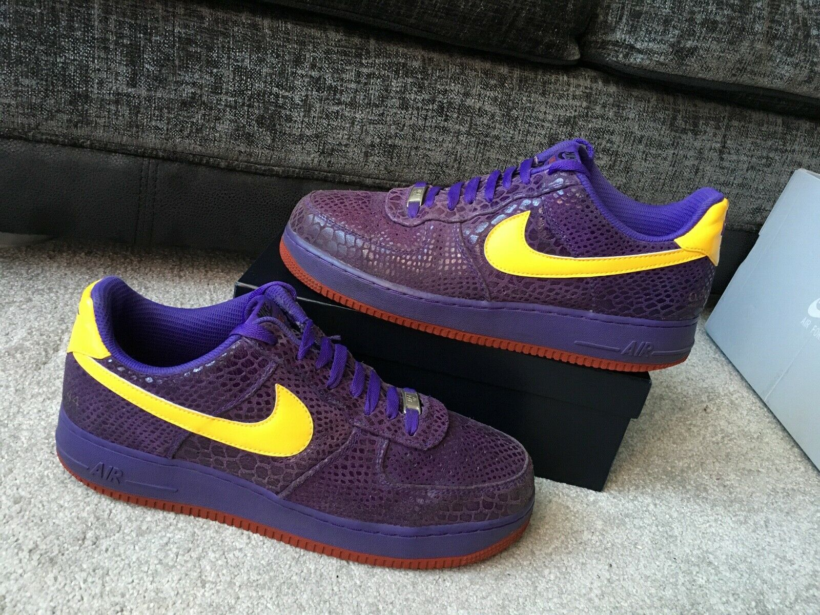 Nike West Air AF1 -82 0.44 Sticky Rubber, premium, limited trainers Eur 45