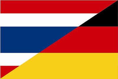 Autoaufkleber Sticker Fahne Thailand wehend Flagge Aufkleber