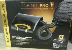 InfinitiPro-Gold-by-Conair-Soft-Bonnet-Hair-Dryer-AS-IS-READ-AD-RS679