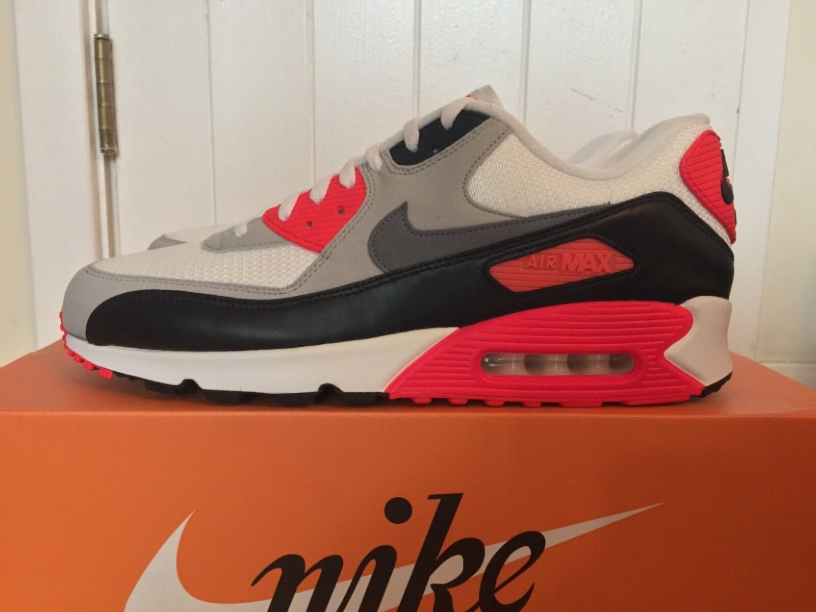 Air Max 90 infrared OG Nike deadstock 2015 release size 14 deadstock Nike 100% authentic 9c17e1