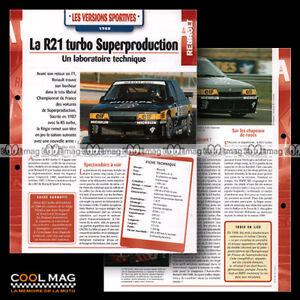 hvf-101-02-RENAULT-21-TURBO-4X4-SUPERPRODUCTION-R21-1988-Car-Fiche-Auto