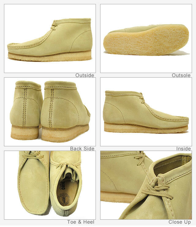 Clarks Originals Wallabee botas para mujer X      ante de Arce UK 3,4,5,6,7,8 D  venta con alto descuento