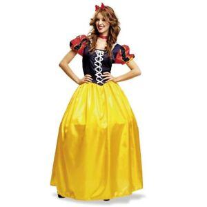 Disfraz de Blancanieves largo XL