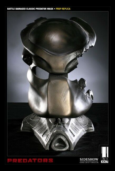 Battle Damage PROTator Mask Prop Replica 1:1 by Sideshow Collectibles