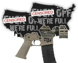Details about AR15 Lower F-OFF Were Full Decals \ Magazine Stickers \ AR-15  Mag Black Ops (2)