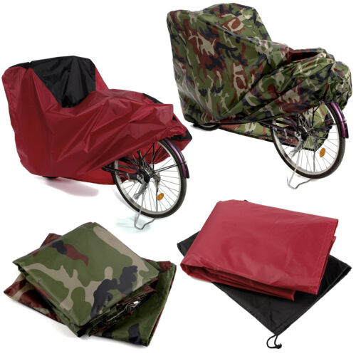 Premium Waterproof Bicycle Cover Mountain Electric Bike Mope Storage 1-2 Bikes