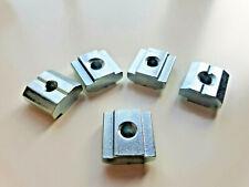 M5 mit Steg Typ B 10x Nutenstein Nut 8 Stahl verzinkt schwer