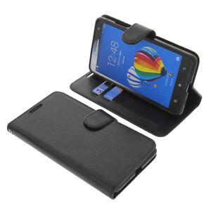 Custodia-per-Lenovo-S856-Smartphone-a-Libro-Custodia-protettiva-libro-Nero