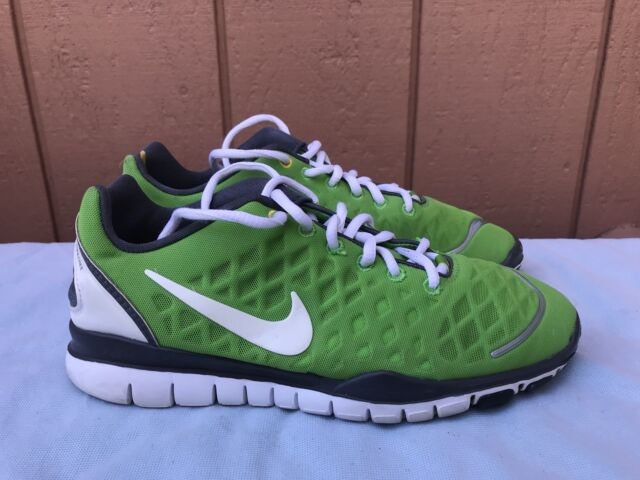 new styles bb6c1 d38c9 EUC Nike Free 4.0 V2 Womens US 7 Livestrong Running Green White 433133-301  A3