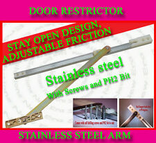 UPVC DOOR RESTRICTOR STAY OPEN ARM , PVC DOUBLE FRENCH PATIO CONSERVATORY DOOR