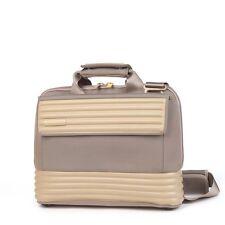Mandarina Nylon Duck Laptop Briefcase Bag In Beige - Tank Collection