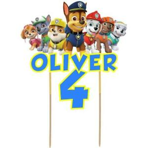 Paw-Patrol-Cake-Topper-Personalised-Kids-Birthday-Party-Decoration-Image-Card