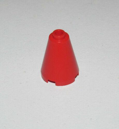 Lego ® Brique Conique Brick Cone 2x2x2 Blocked Open Stud Choose Color ref 3942