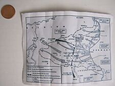 In The Past Toys 1/6 scale Toy German Battle of the bulge map