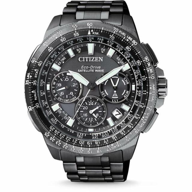 Citizen Eco-drive F900 Satellite Wave World Time Titanium Sapphire Japan  Watch Cc9025-51e
