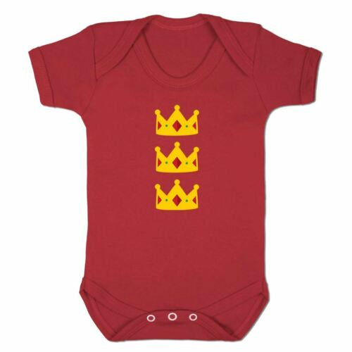 Baby Grow Clothes Novelty Gifts for Baby Girls Three Kings Emoticon