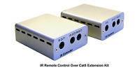 Ir Remote Control Over Cat5 Cat6 Extender + Ir Remote Repeater Max 800ft