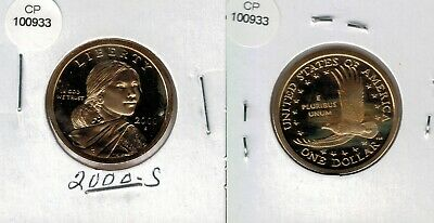 2002 S Sacagawea Proof Dollar from US Mint Set CP2121