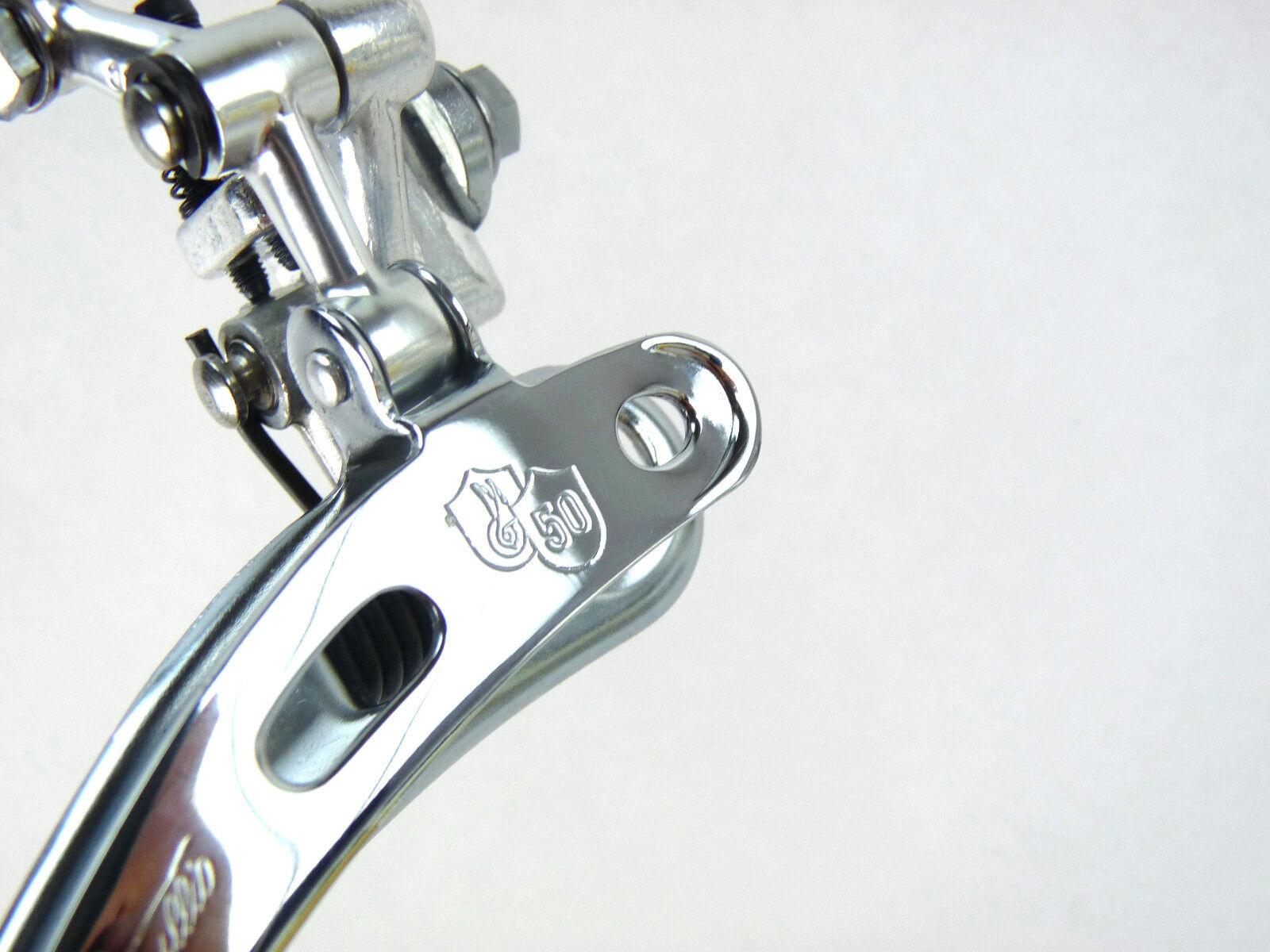 Campagnolo 50th Anniversary Front derailleur BRAZE ON Record Vintage Bike NOS