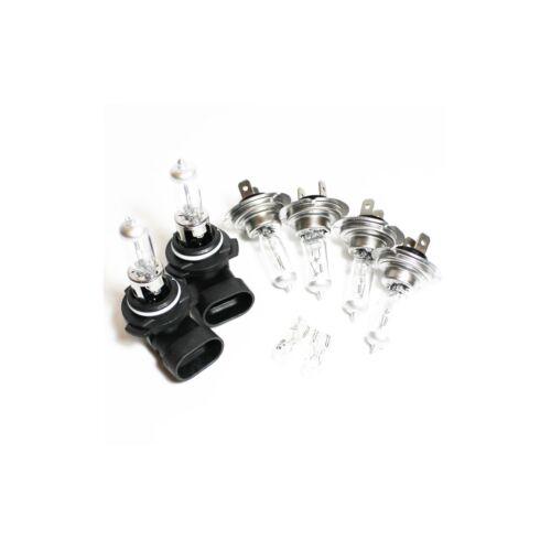 Si adatta BMW SERIE 3 E46 55w CLEAR XENON HID ALTO//BASSO//Nebbia//laterale dei fari lampadine Set