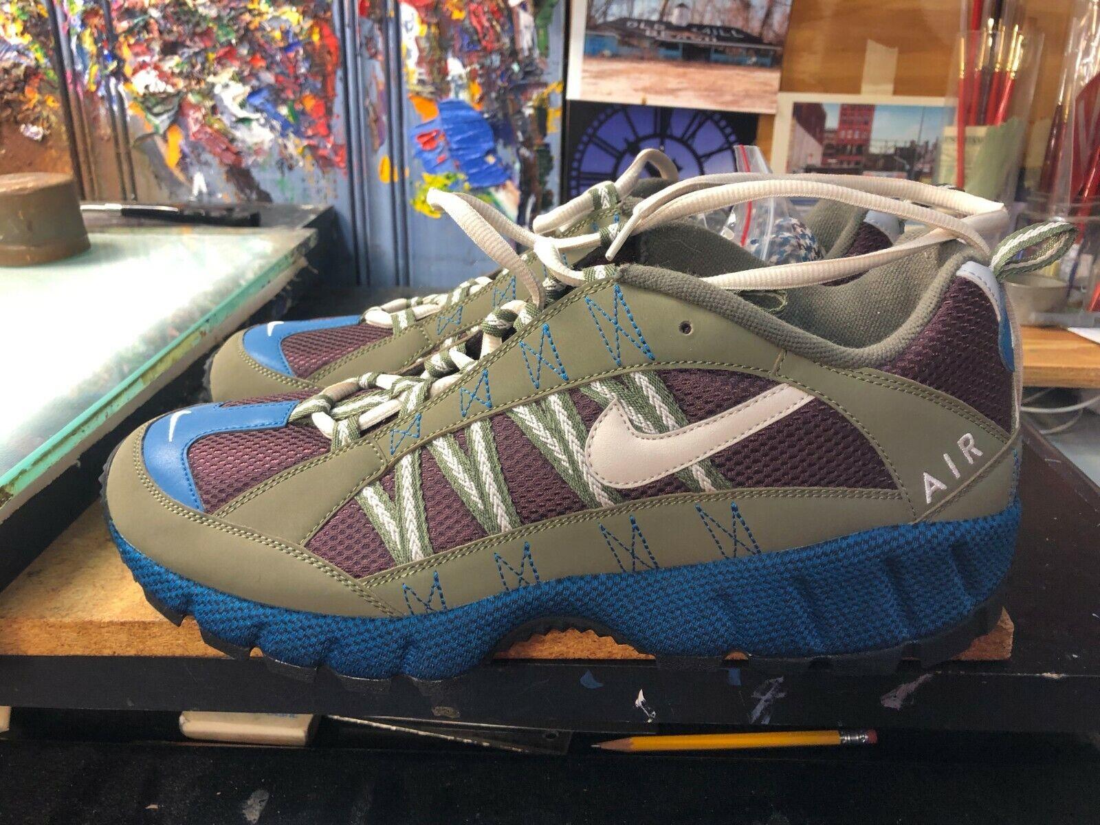Nike Air Humara '17 Medium Olive Desert Sand Size US 12 Men AJ1102 200 New