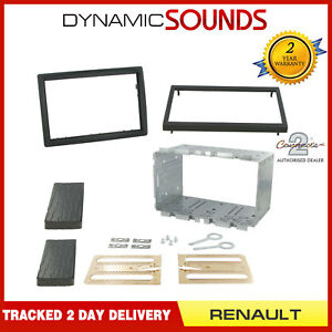 Connects2 CT23RT03 Renault Megane II 2006-2008 Double Din Fascia Fitting Kit