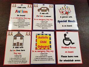 Autisme & besoins spéciaux Avis-Voiture Ou Maison-Sen-Les Situations d'urgence  </span>